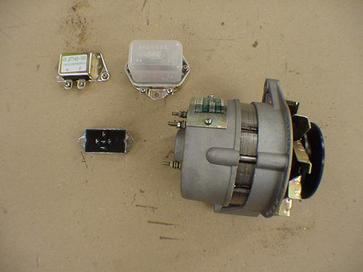 Tractor parts online - alternators and voltage regulators for Jinma tractors
